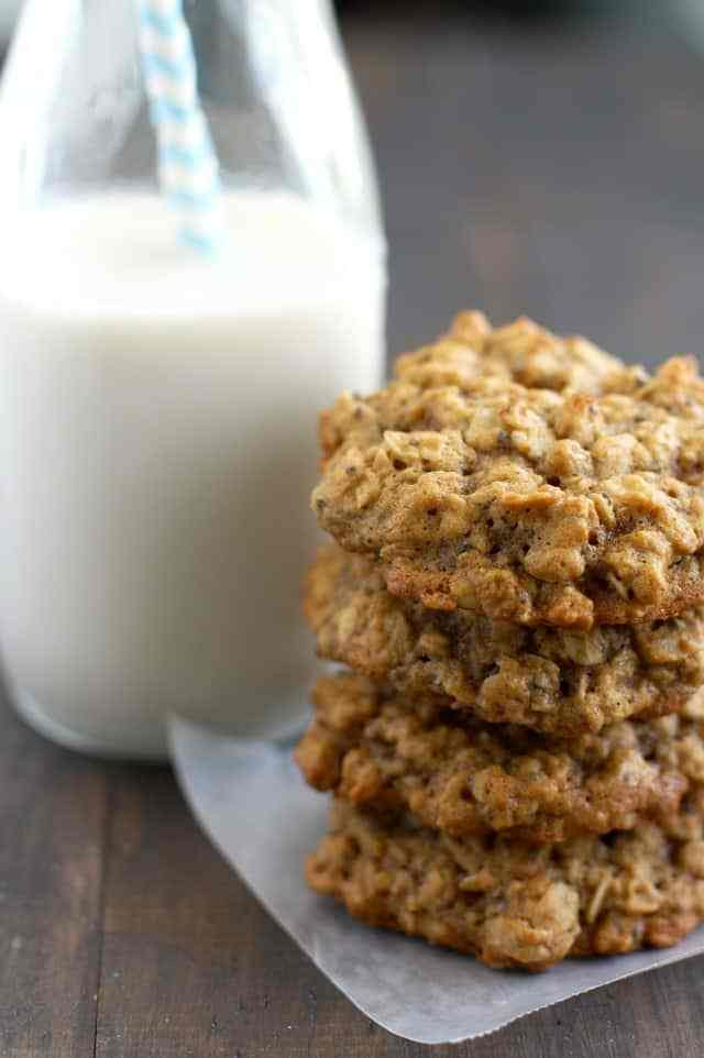 Healthy Applesauce Oatmeal Cookies  Oatmeal Applesauce Cookies Back to School with Natural