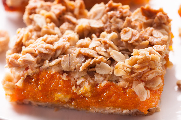 Healthy Apricot Recipes  Crumbly Oat and Apricot Bars 22 Recipes for Healthy Road