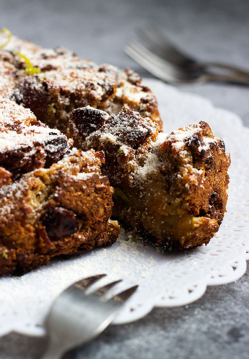 Healthy Apricot Recipes  Healthy Fruit Cake with Figs Apricots & Dates Sprinkle