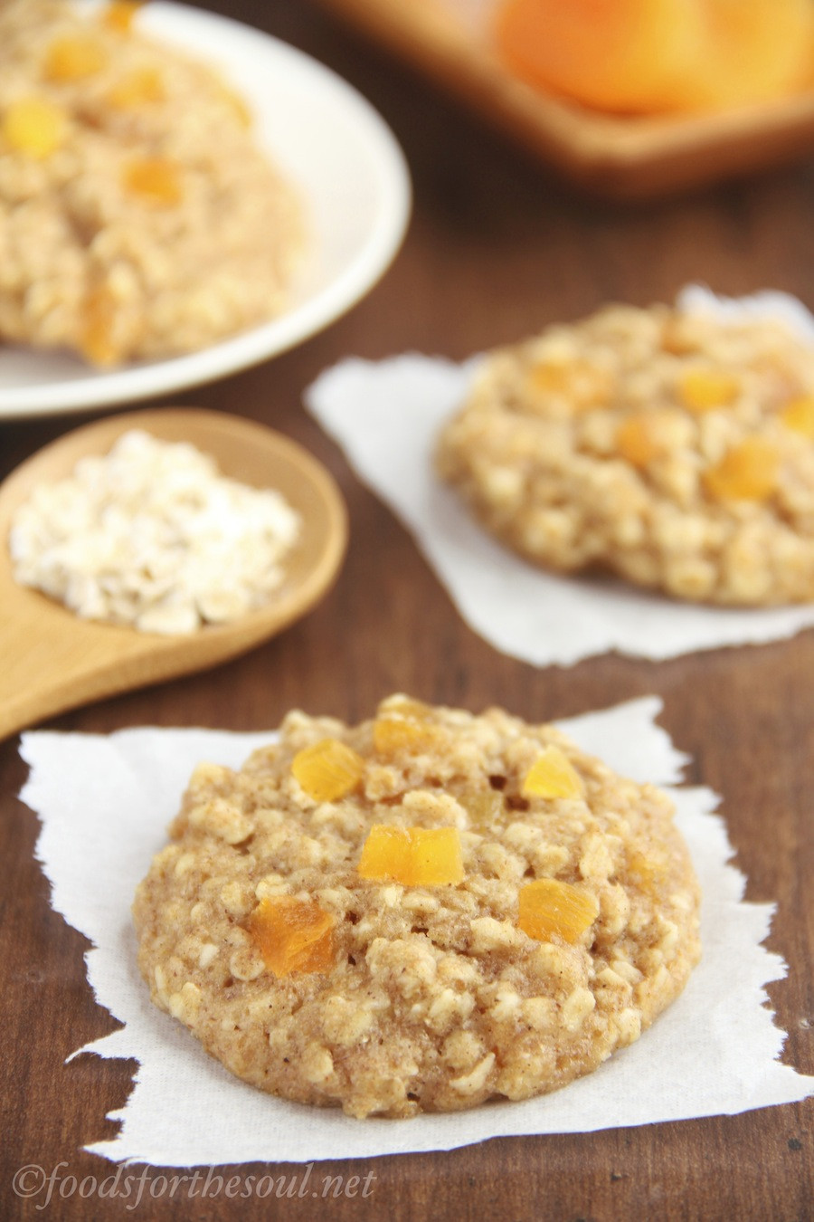 Healthy Apricot Recipes  Healthy Raspberry Oatmeal Cookies Recipe Video