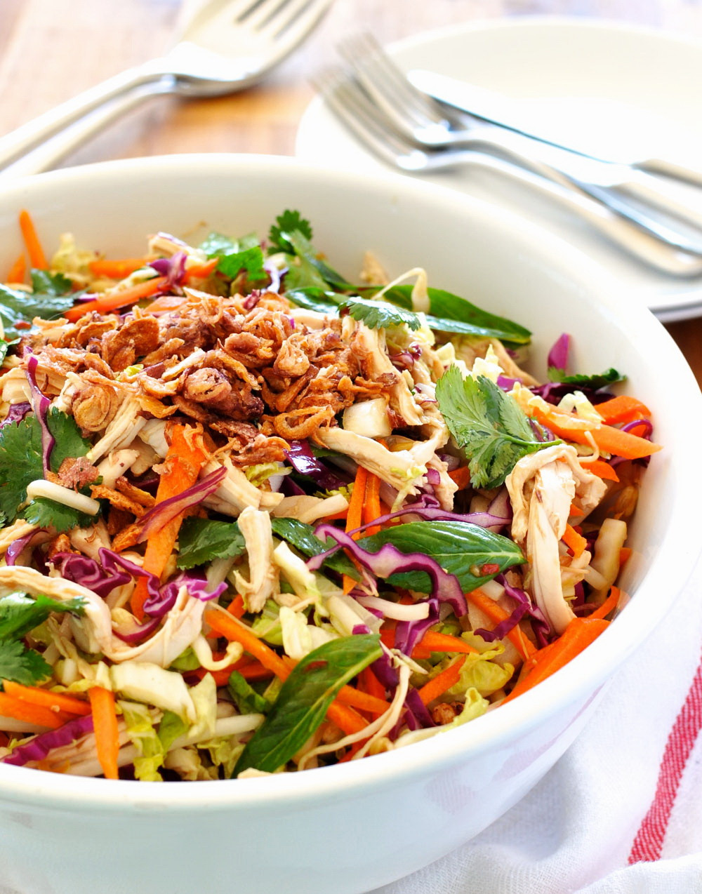 Healthy Asian Chicken Recipes  Crunchy Asian Chicken Salad – Best Fast Healthy Weight