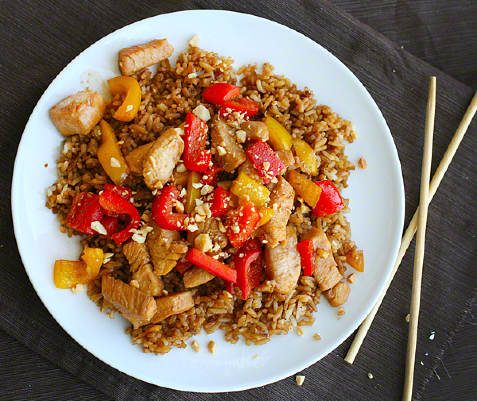 Healthy Asian Chicken Recipes  Kung Pao Chicken healthy asian favorites steamy kitchen