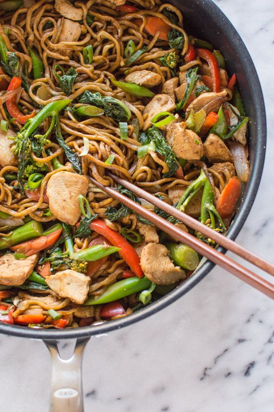Healthy Asian Food Recipes  Best 25 Chicken chow mein ideas on Pinterest