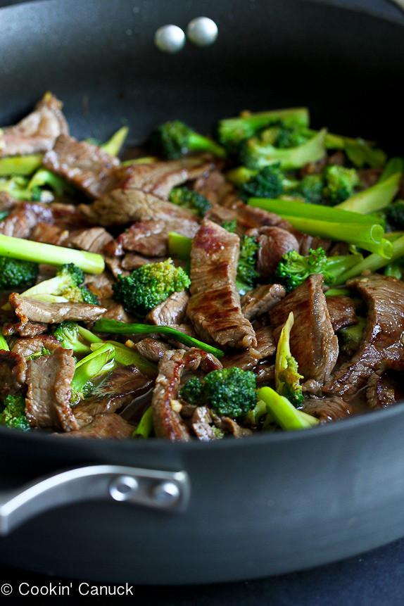 Healthy Asian Food Recipes  Chinese Beef & Broccoli Stir Fry Recipe Skinnytaste
