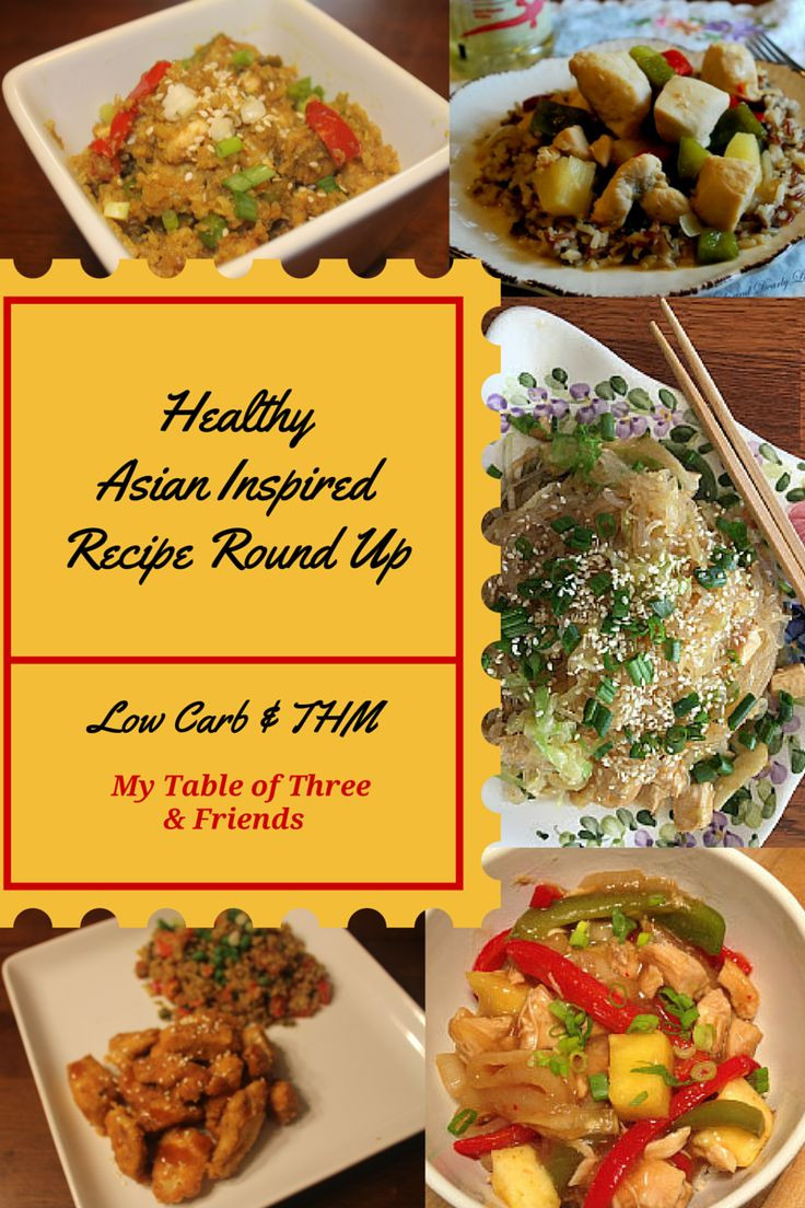 Healthy Asian Recipes  153 best images about THM Asian on Pinterest