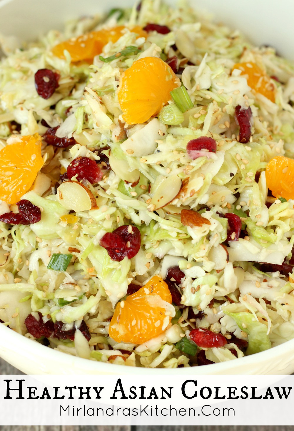 Healthy Asian Recipes  healthy asian coleslaw