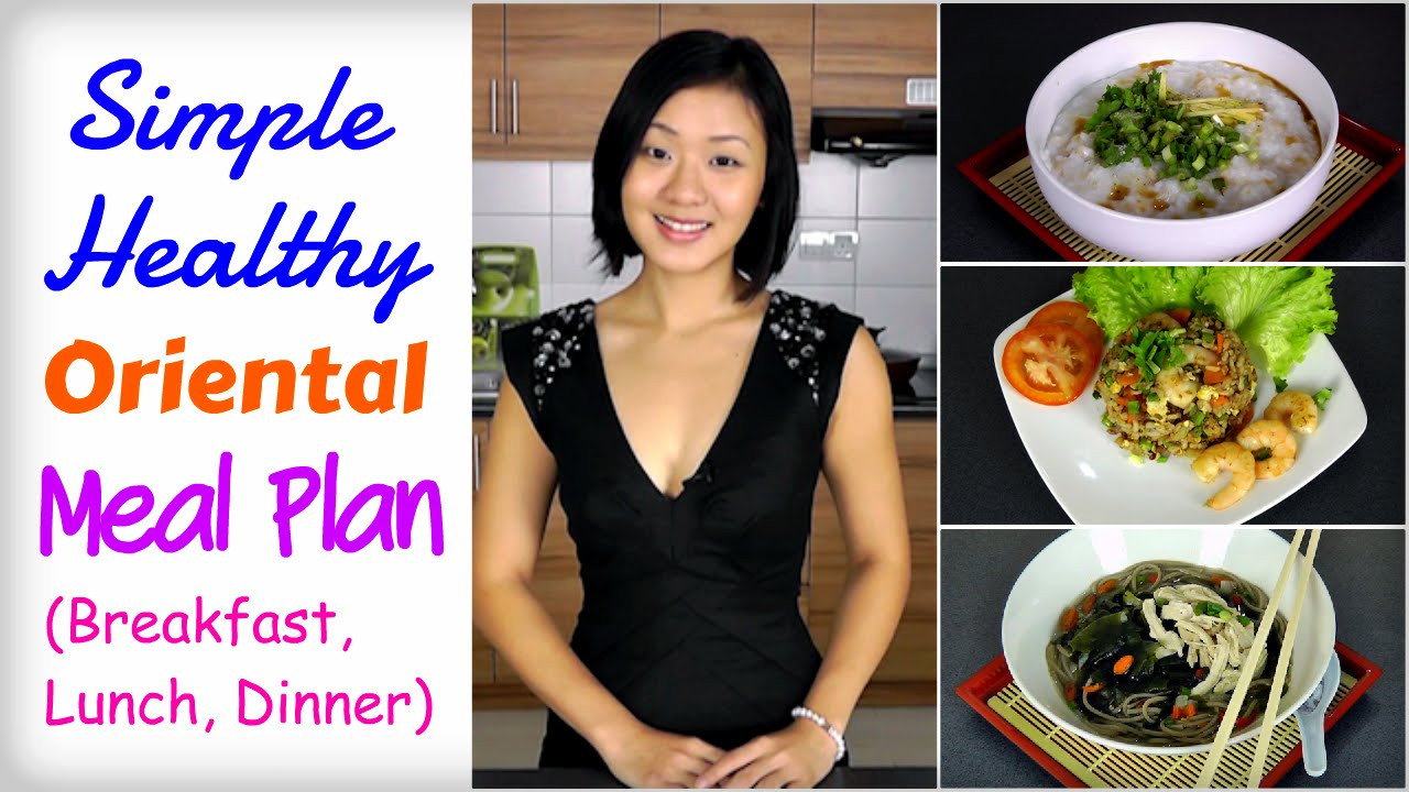 Healthy Asian Recipes Lose Weight  Healthy Asian Meal Plan to Lose Weight Breakfast Lunch