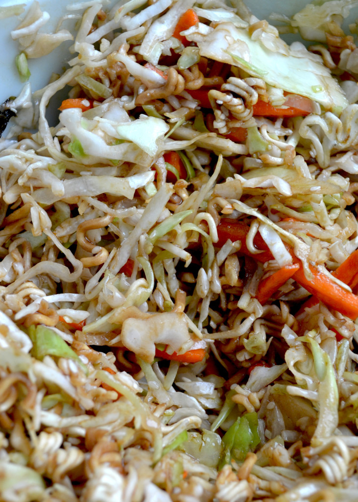 Healthy Asian Recipes  Healthy Asian Slaw Recipe with Ramen Noodles Ever After