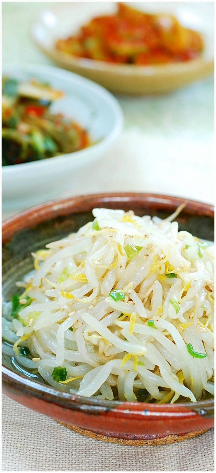Healthy Asian Side Dishes  Best 25 Korean side dishes ideas on Pinterest