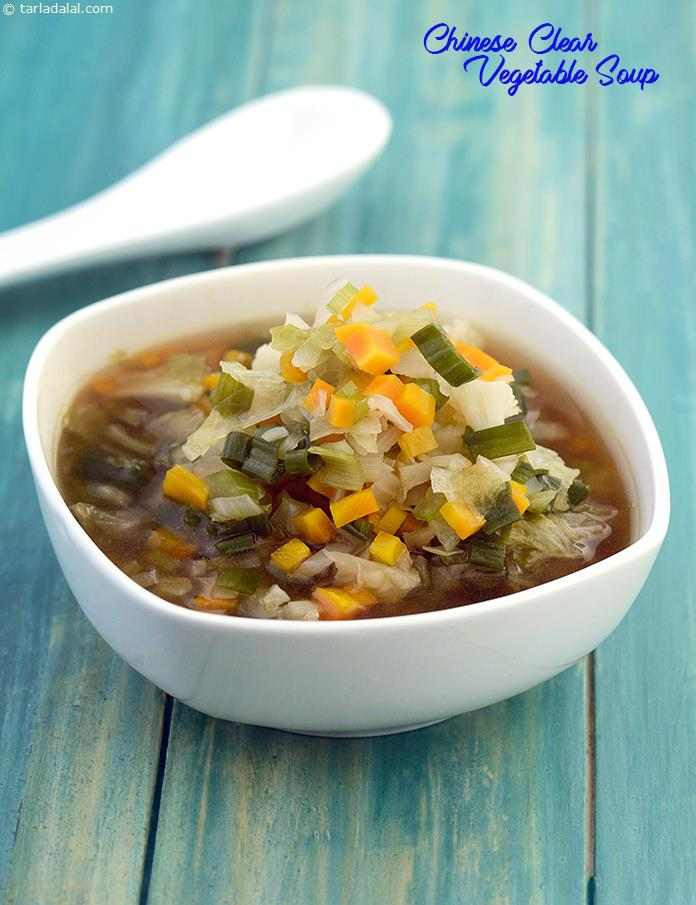 Healthy Asian Soup Recipes  Chinese Clear Ve able Soup Low Calorie Healthy Cooking