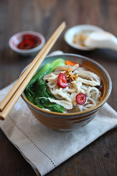 Healthy Asian Soup Recipes  Chinese Chicken Noodle Soup