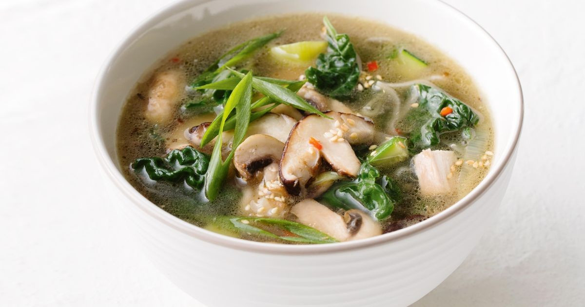 Healthy Asian Soup Recipes  Asian chicken soup