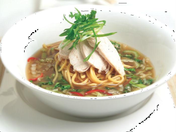 Healthy Asian Soup Recipes  LiveLighter Asian noodle soup