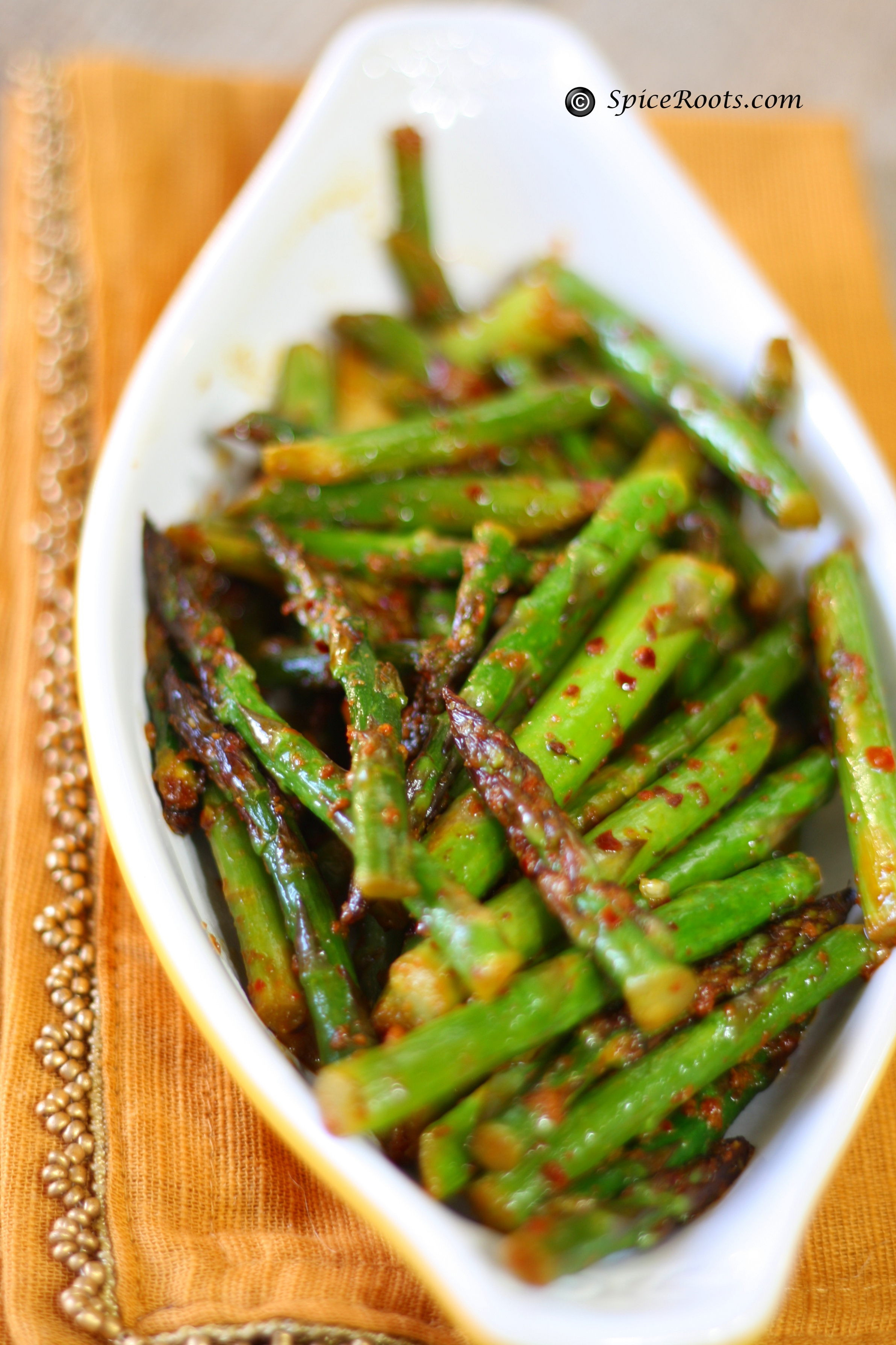 Healthy Asparagus Recipes  Stir Fry Asparagus Indian Style