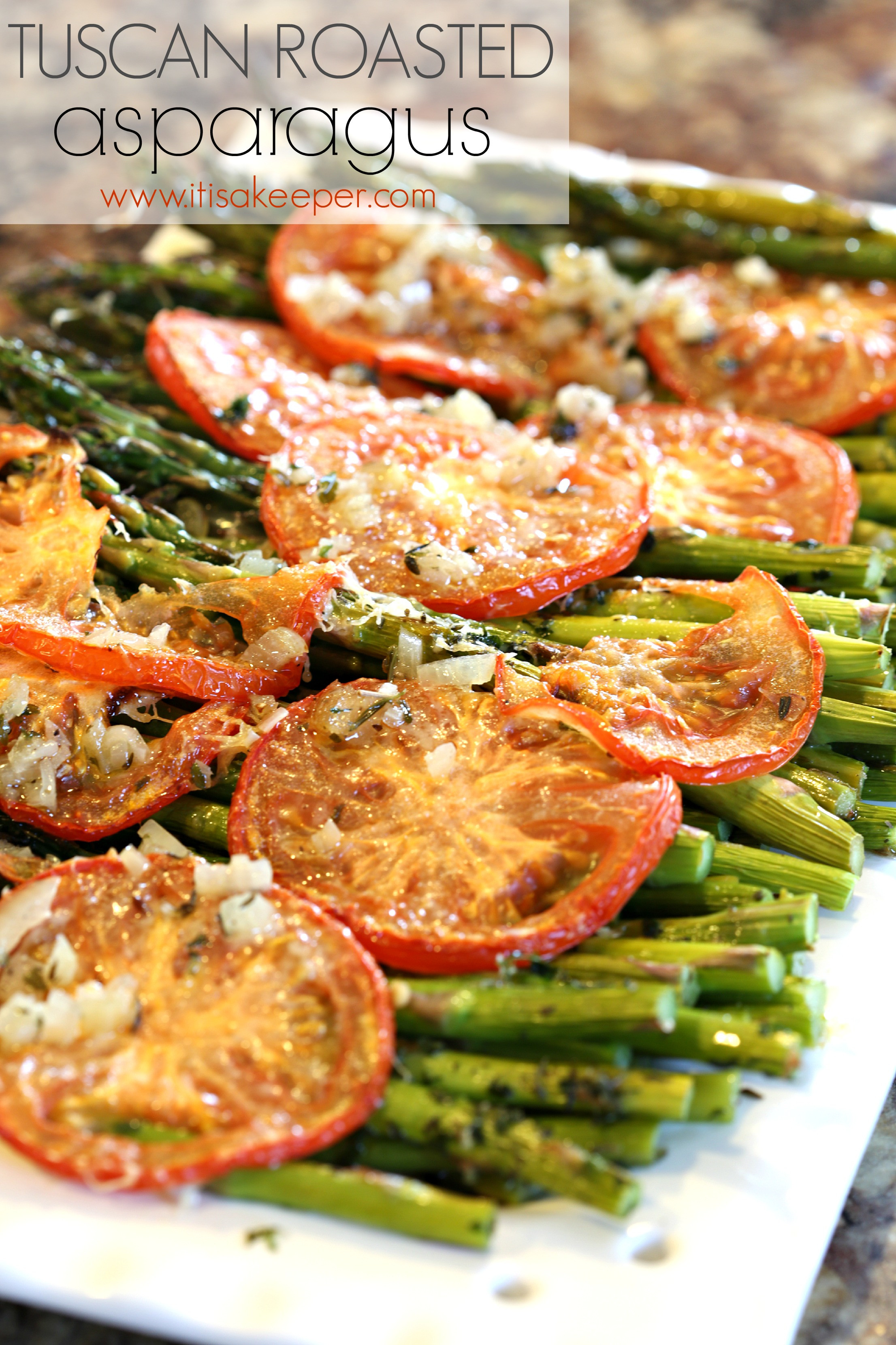 Healthy Asparagus Recipes  Healthy Easy Dinner Recipes Tuscan Roasted Asparagus