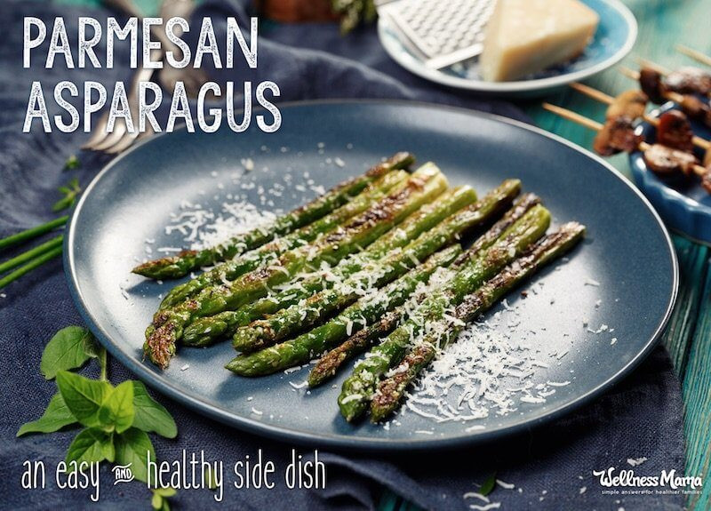 Healthy Asparagus Recipes  Parmesan Asparagus Recipe
