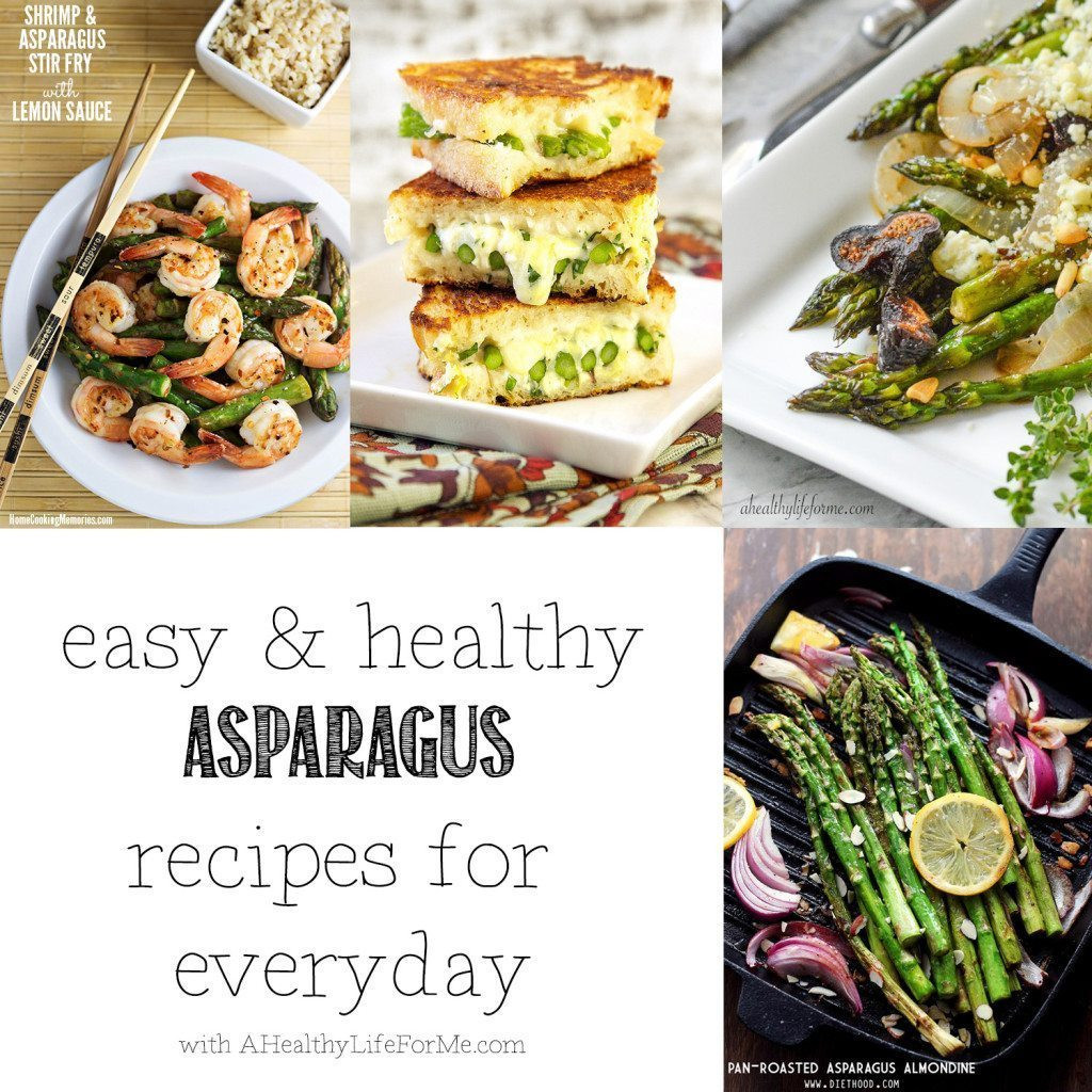 Healthy Asparagus Recipes  Healthy Asparagus Recipes A Healthy Life For Me