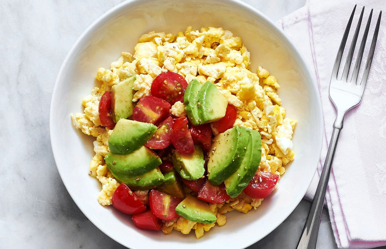 Healthy Avocado Breakfast  Avocado Breakfast Scramble Recipe — Eatwell101