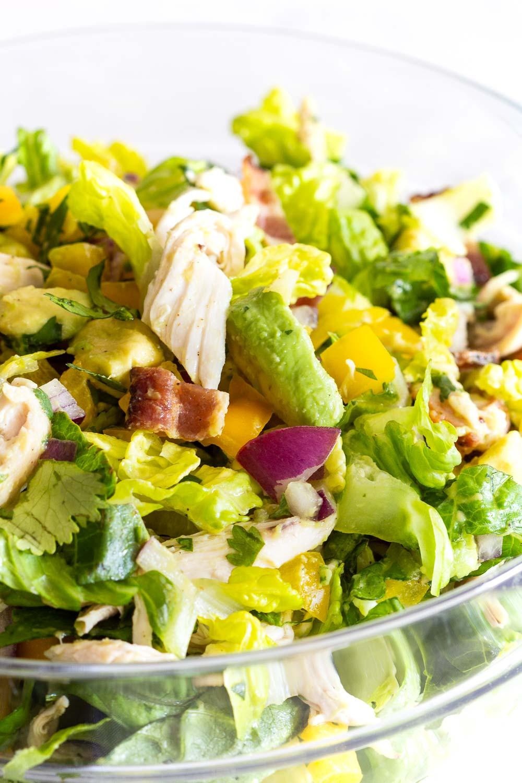 Healthy Avocado Chicken Salad  Avocado Chicken Salad Green Healthy Cooking