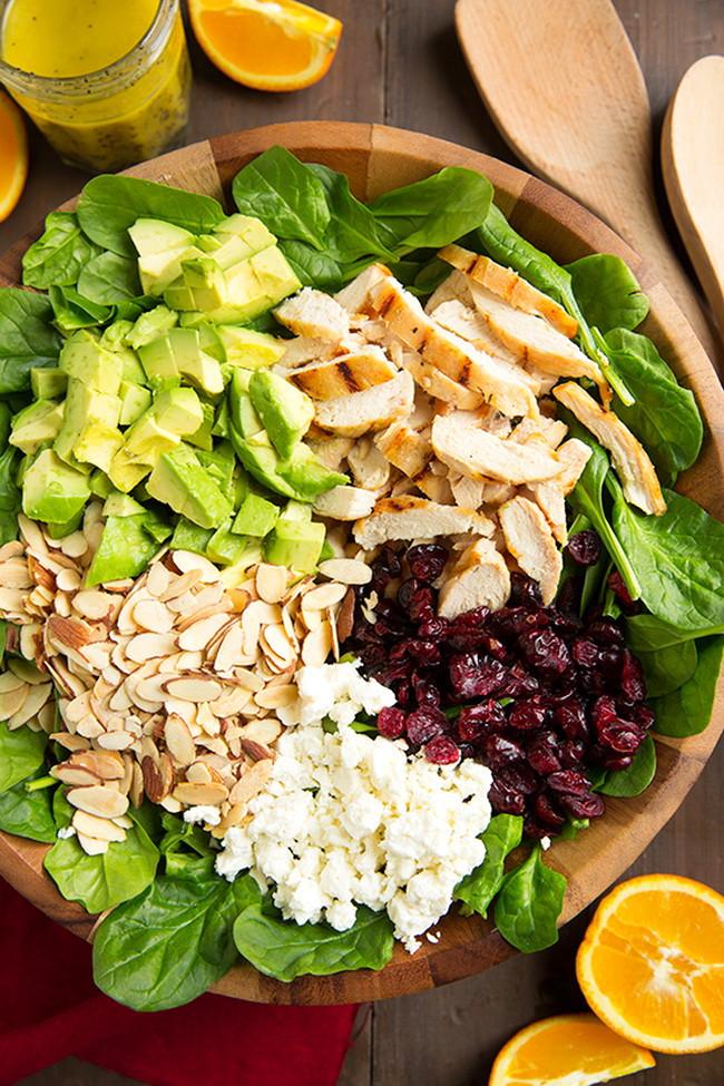 Healthy Avocado Chicken Salad  Avocado Cranberry Grilled Chicken Salad – Healthy
