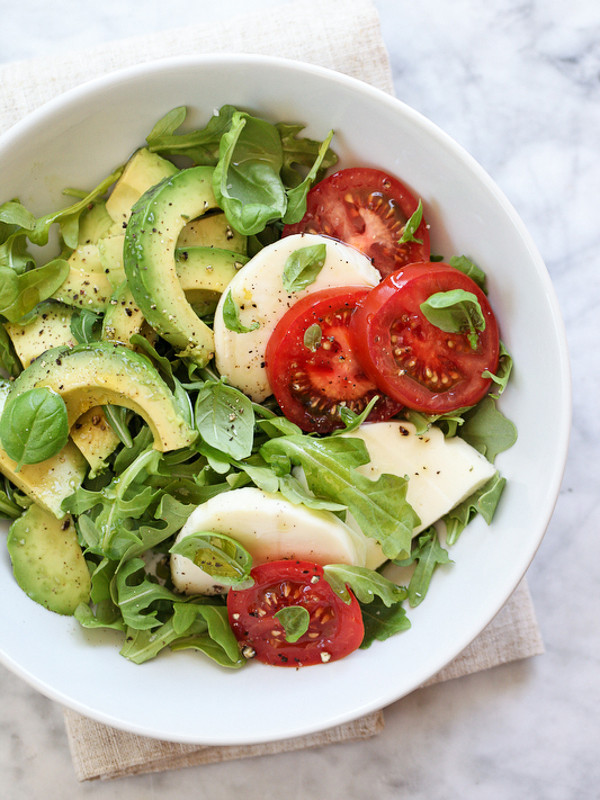 Healthy Avocado Chicken Salad  Avocado Caprese Salad Plus 5 Crunchy Avocado Salads