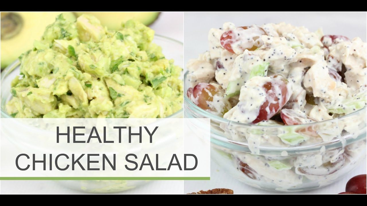 Healthy Avocado Chicken Salad  Healthy Chicken Salad Recipes Sonoma Avocado