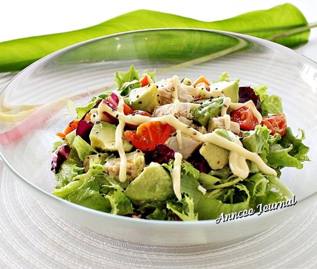 Healthy Avocado Chicken Salad  Avocado Chicken Salad Recipe