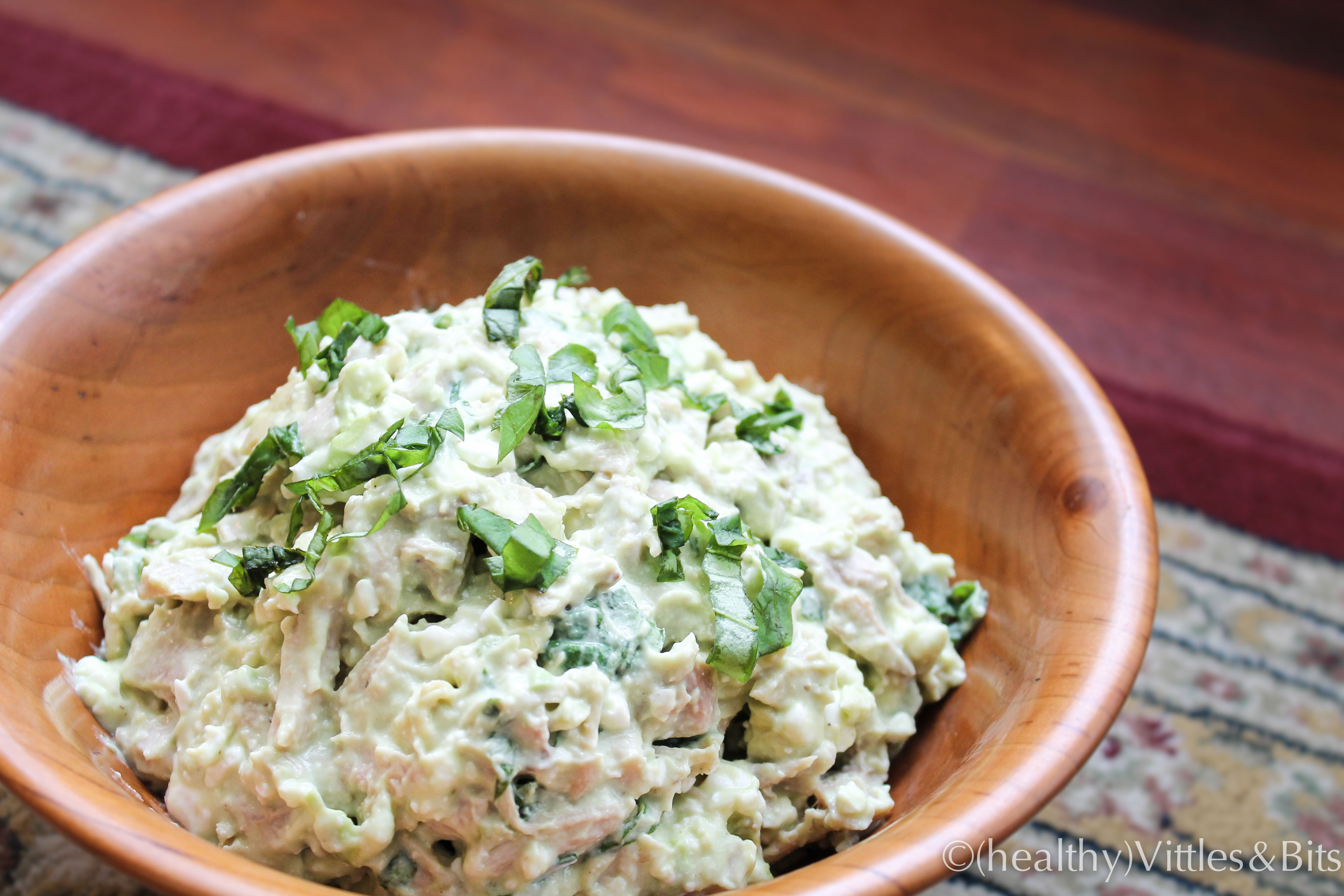 Healthy Avocado Chicken Salad  Creamy Avocado Pasta with Tuna and Cottage Cheese for