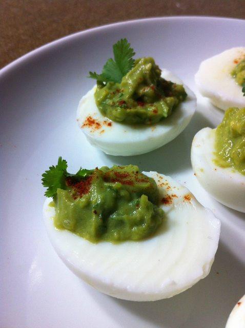 Healthy Avocado Deviled Eggs  Paleo and Healthy Avocado Deviled Eggs Oh Snap Let s Eat
