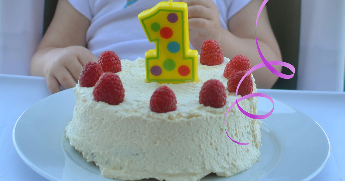 Healthy Baby Birthday Cake  Baby s First Birthday Cake