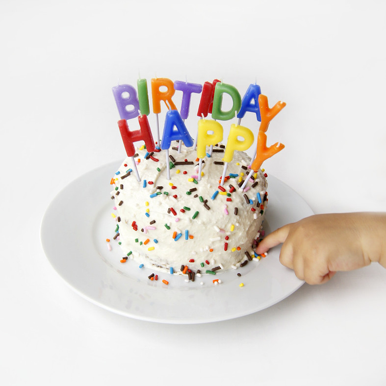 Healthy Baby First Birthday Cake  Recipe Healthy Baby s First Cake