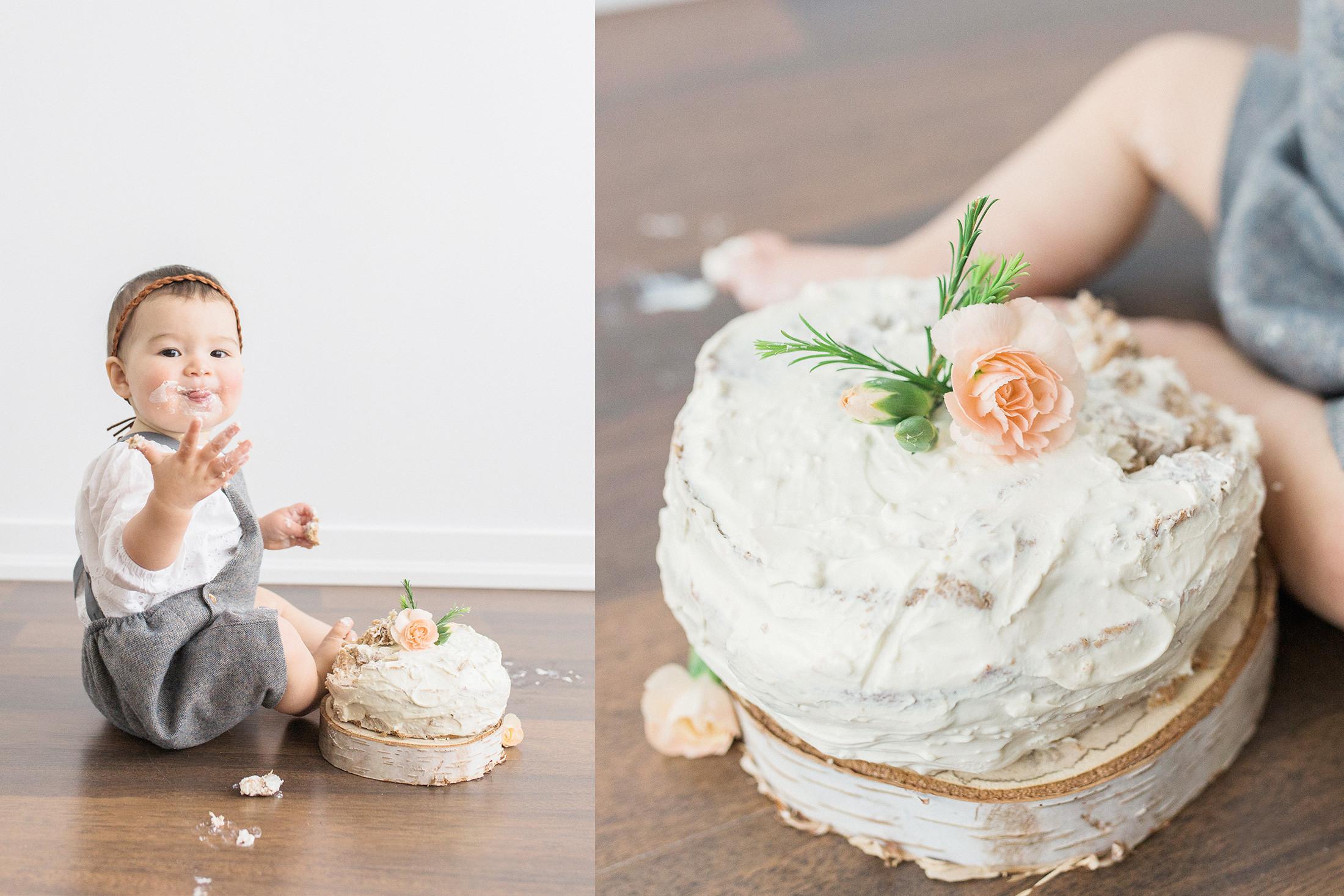 Healthy Baby First Birthday Cake  recipe healthy sugar free smash cake for baby s birthday