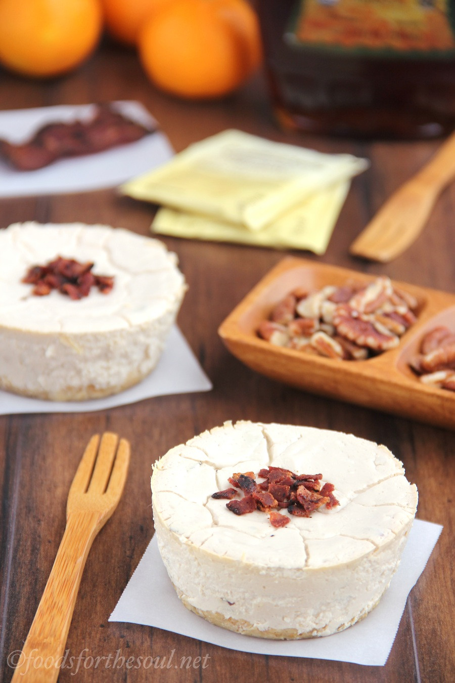 Healthy Bacon Breakfast  Maple Bacon Breakfast Cheesecakes