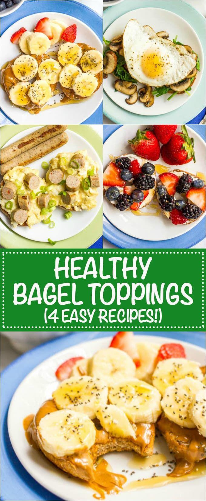 Healthy Bagel Breakfast  Best 25 Healthy bagel ideas on Pinterest
