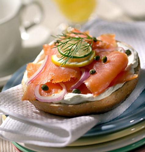 Healthy Bagel Breakfast  Jewish food to serve at a bar mitzvah • Bar & Bat Mitzvah
