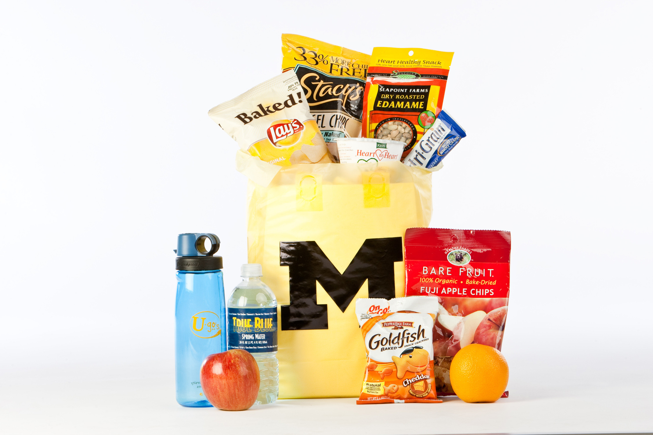 Healthy Bagged Snacks  Show Your Support From Afar