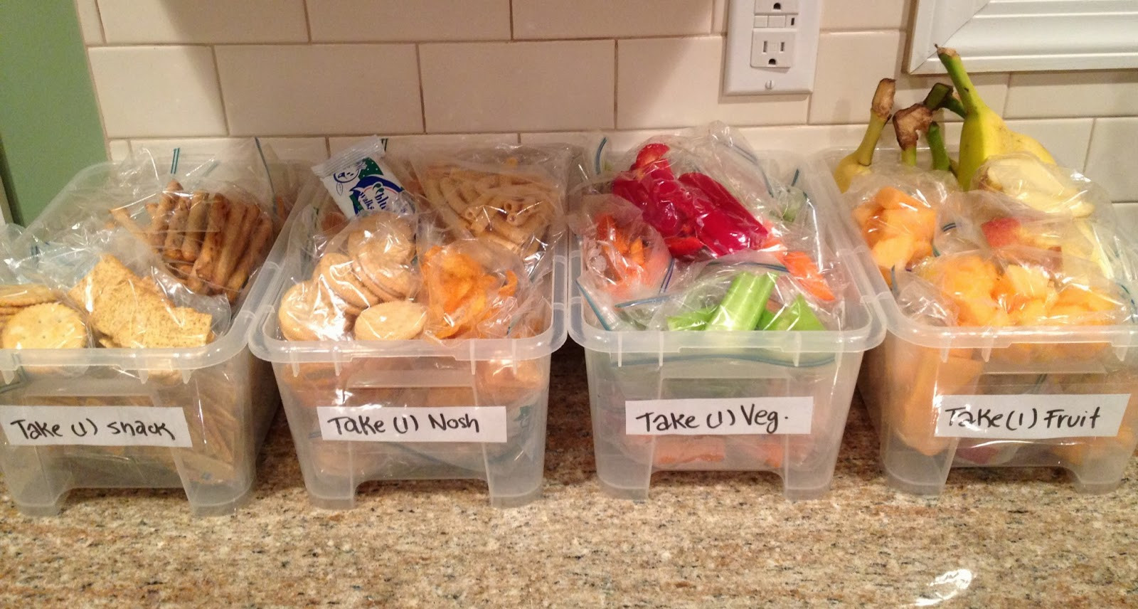 Healthy Bagged Snacks  Not 2 Shabbey Healthy Kosher Snack & Lunch Ideas