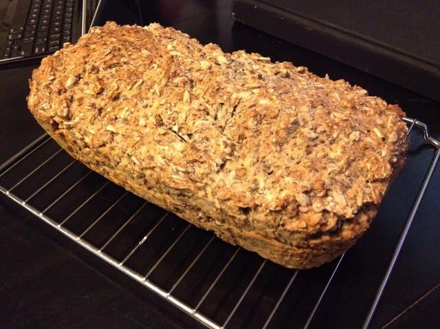 Healthy Bake Bread  How to Bake Healthy German Whole Grain Bread Recipe