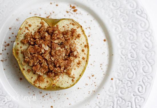 Healthy Baked Apple Dessert  Delightfully Baked Apples