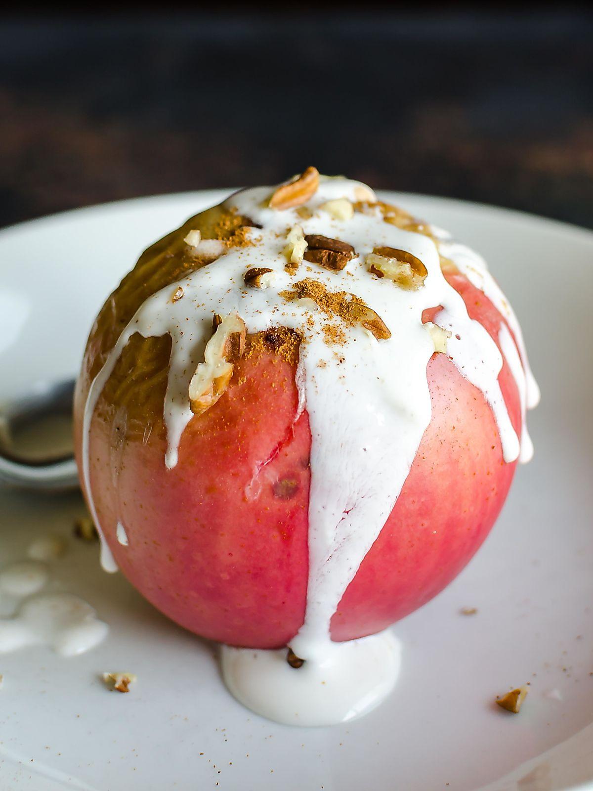 Healthy Baked Apple Dessert  Super Delicious Healthy Baked Apples Trim Healthy Mama