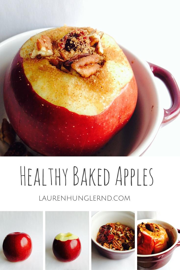 Healthy Baked Apple Dessert  Healthy Baked Apples