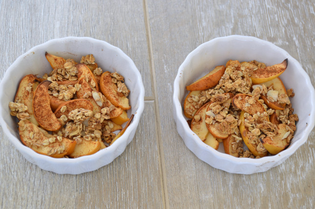 Healthy Baked Apple Dessert  Healthy Holiday Traditions Our Thrifty Ideas