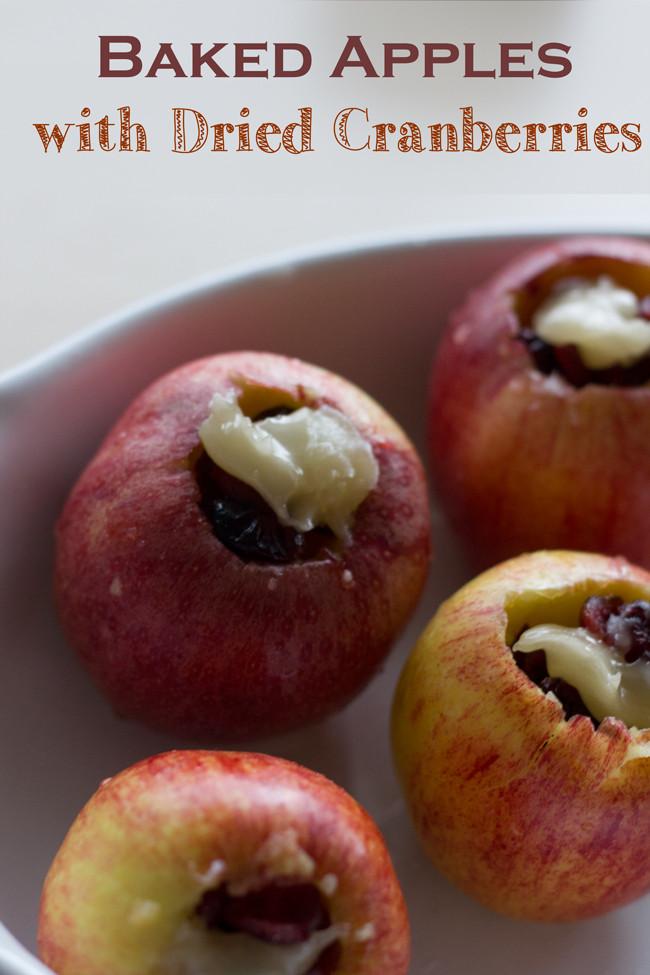 Healthy Baked Apple Dessert  Baked Apple Goodness — YOGABYCANDACE