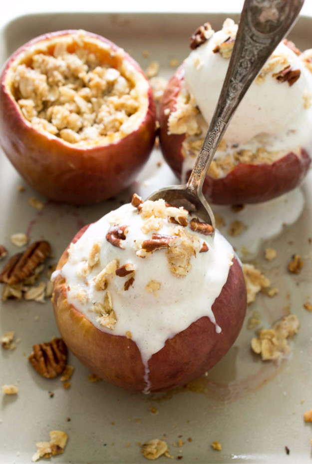 Healthy Baked Apple Dessert  43 Last Minute Dessert Ideas You Will Drool Over Page 5