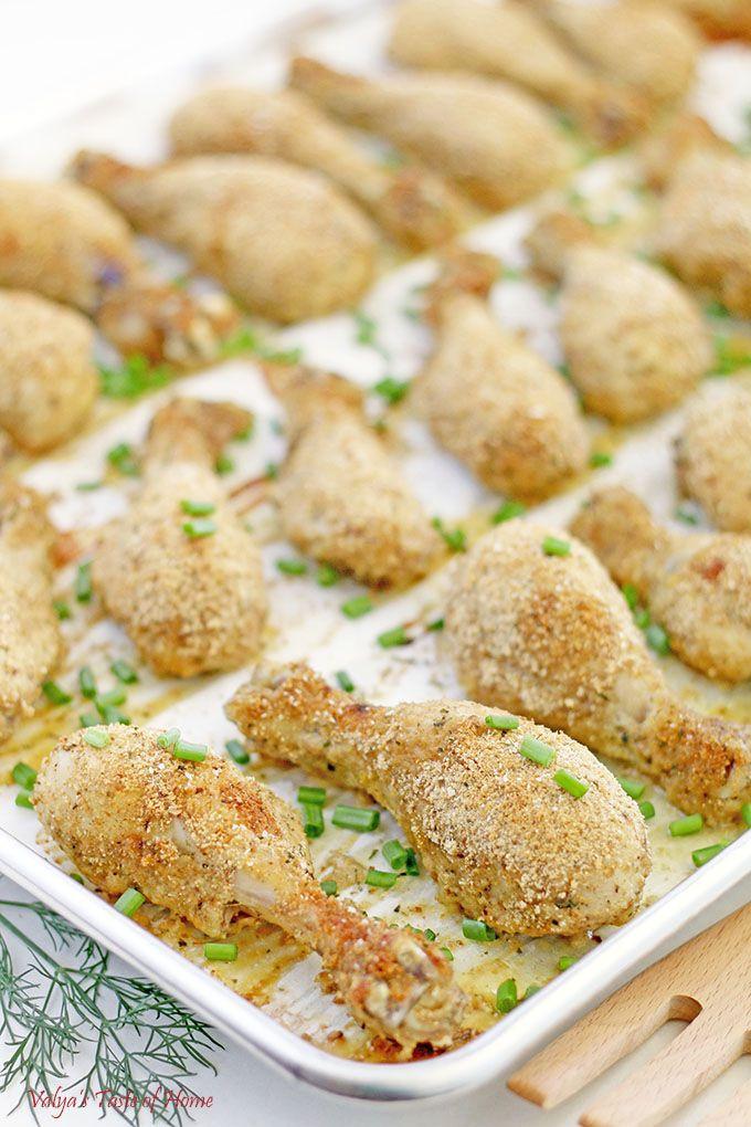 Healthy Baked Breaded Chicken  besten DIY from Food Bloggers Bilder auf Pinterest