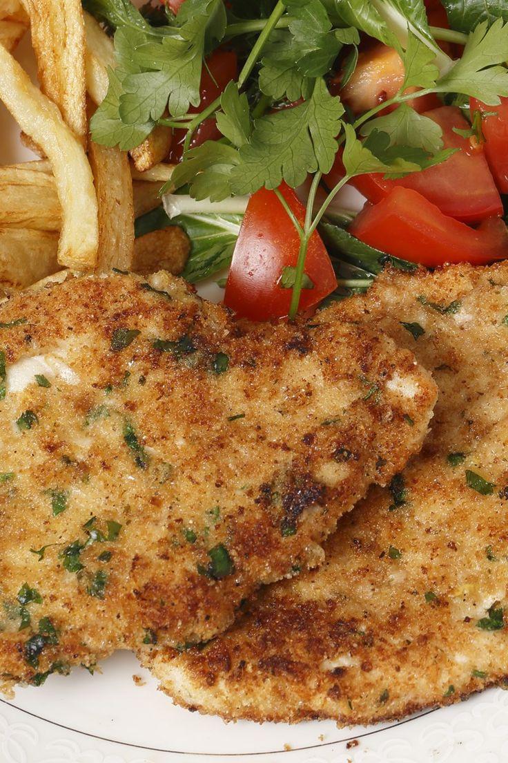 Healthy Baked Breaded Chicken  17 Best ideas about Milanesa on Pinterest