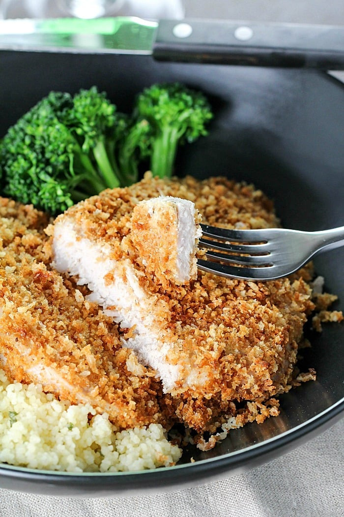 Healthy Baked Breaded Chicken  Healthy Weekly Meal Plan 97