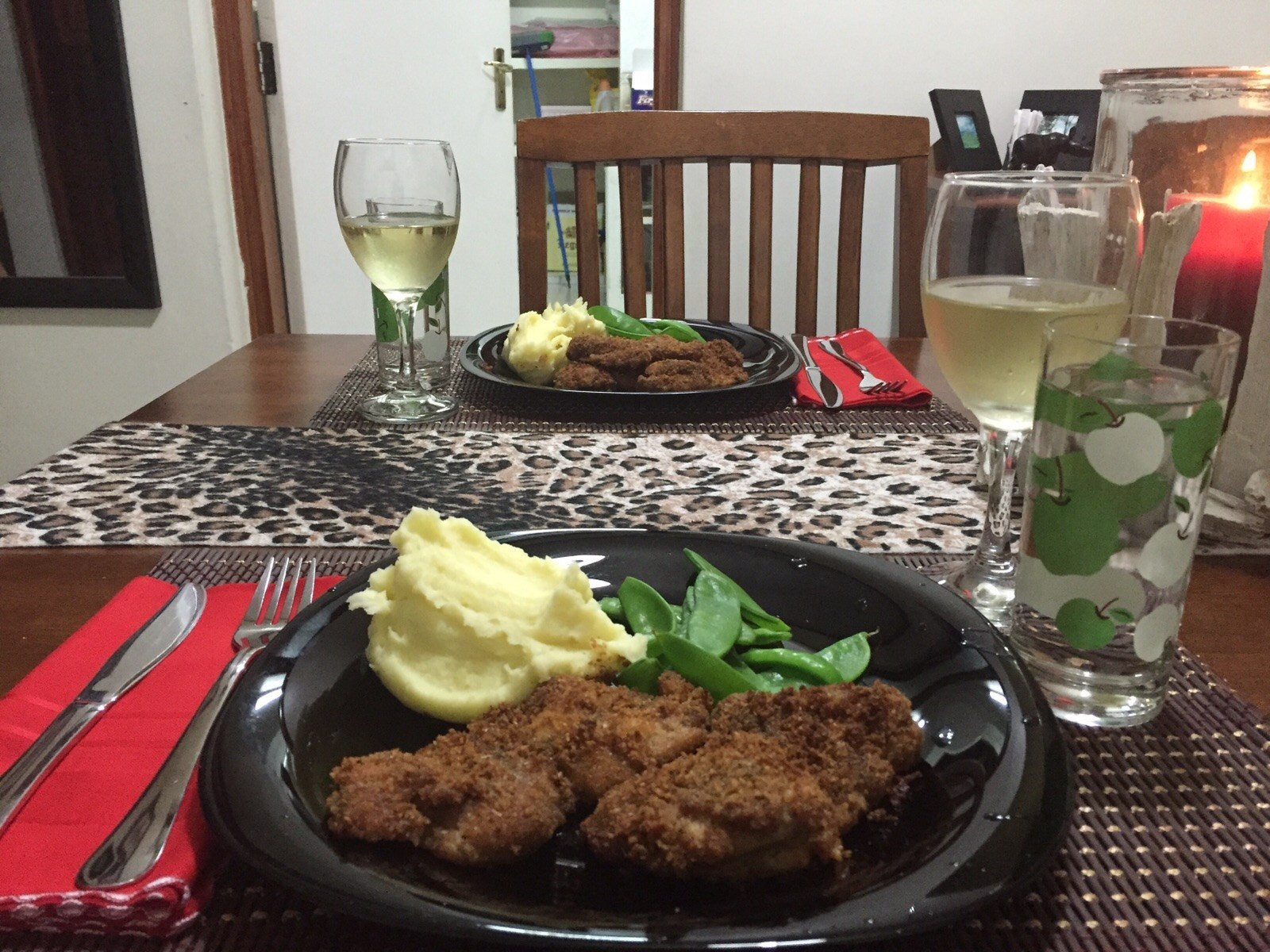 Healthy Baked Breaded Chicken  Healthy baked breaded chicken thighs They call me Daktari