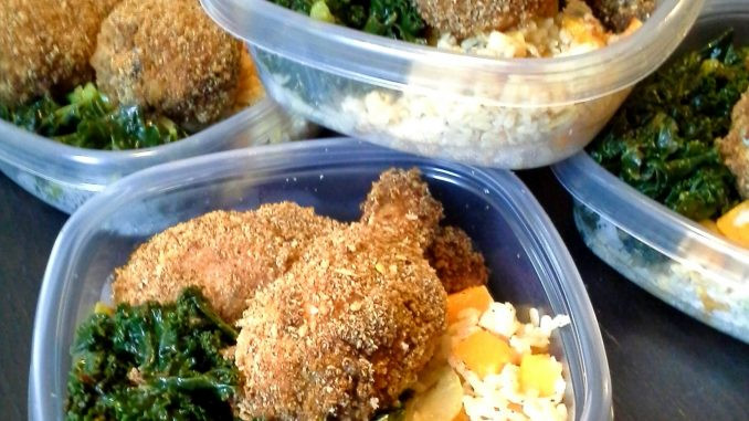 Healthy Baked Breaded Chicken  Healthy baked breaded chicken about health