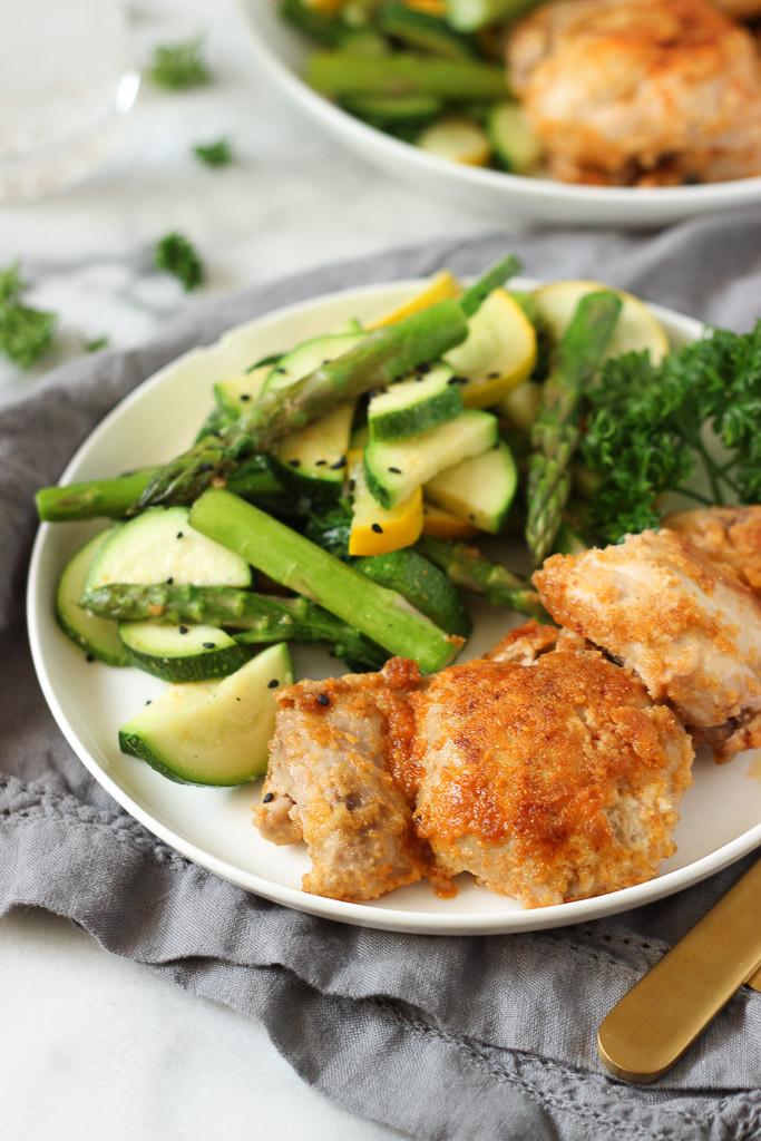 Healthy Baked Breaded Chicken  Healthy Breaded Chicken